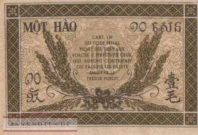 Indochina - 10  Cents (#089a_UNC)