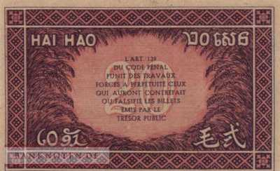 Indochina - 20  Cents (#090_UNC)