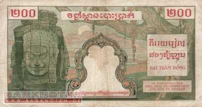 Indochina - 200  Piastres (#098_F)