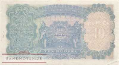 Indien - 10  Rupees (#019a_XF)
