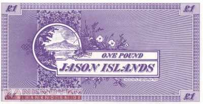 Jason Islands - 1  Pound - private issue (#902_UNC)