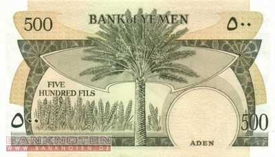 Jemen Democratic Republic - 500  Fils (#006_UNC)