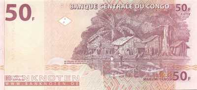 Congo, Democratic Republic - 50  Francs (#091A_UNC)
