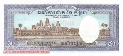 I Kambodscha Set 50 bis 500 Riels 3 Banknoten bankfrisch Banknoten f/ür Sammler