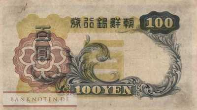 Korea (old) - 100  Yen (#032a_F)