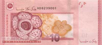 Malaysia - 10  Ringgit (#053a_UNC)