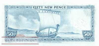 Isle of Man - 50  New Pence (#028b_UNC)
