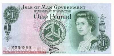 Isle of Man - 1  Pound (#038a_UNC)