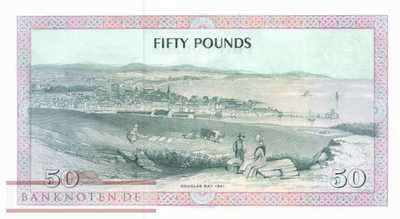 Isle of Man - 50  Pounds (#039a_UNC)