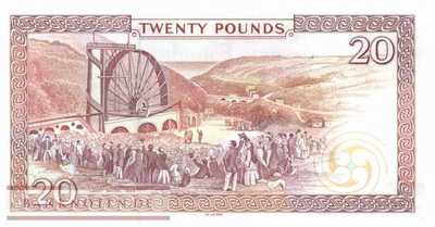 Isle of Man - 20  Pounds (#047a_UNC)