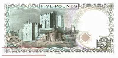 Isle of Man - 5  Pounds (#048a_UNC)
