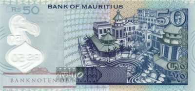 Mauritius - 50  Rupees - Polymer (#065_UNC)