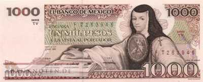 Mexico - 1.000  Pesos (#080a-TV_UNC)