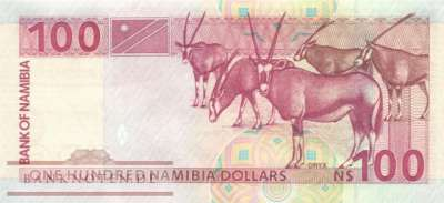 Namibia - 100  Namibia Dollars (#009A_UNC)