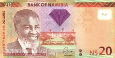 Namibia - 20  Namibia Dollars (#012a_UNC)
