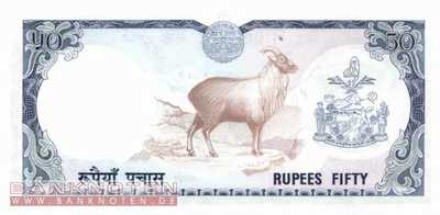 Nepal - 50  Rupees (#025a_UNC)