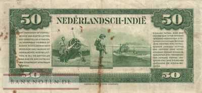Netherlands Indies - 50  Gulden (#116a_F)
