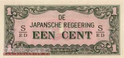 Netherlands Indies - 1  Cent (#119b_UNC)