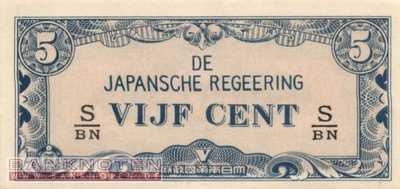 Netherlands Indies - 5  Cents (#120c_UNC)