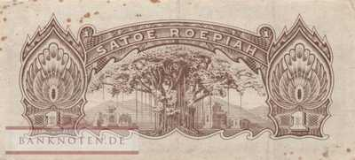Netherlands Indies - 1  Roepiah (#129a_VF)