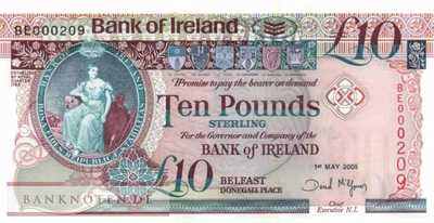 Northern Ireland - 10  Pounds (#079_A_UNC)