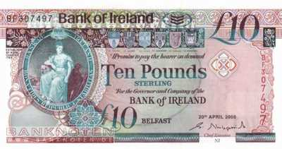 Northern Ireland - 10  Pounds (#084_UNC)