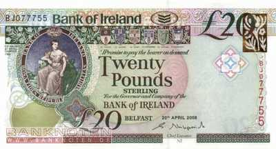 Northern Ireland - 20  Pounds (#085_UNC)