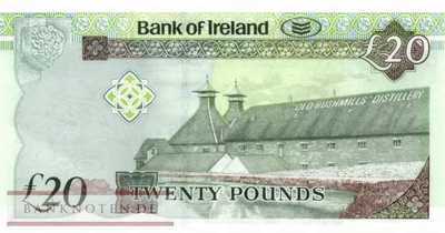 Northern Ireland - 20  Pounds (#088_UNC)
