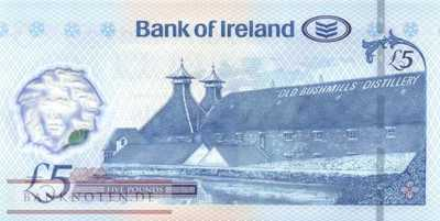 Northern Ireland - 5  Pounds (#090_UNC)