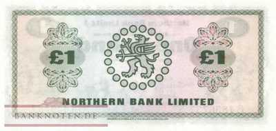 Northern Ireland - 1  Pound (#187b_UNC)