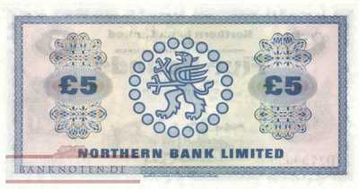 Northern Ireland - 5  Pounds (#188a_UNC)
