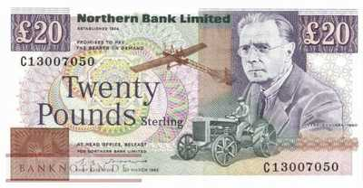 Northern Ireland - 20  Pounds (#195b_UNC)