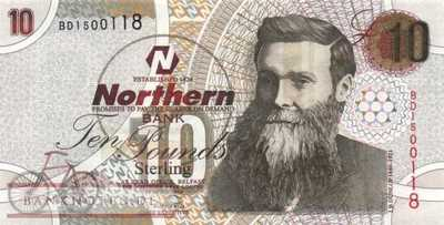Northern Ireland - 10  Pounds (#205_UNC)