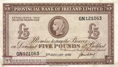 Northern Ireland - 5  Pounds (#246-70_VF)