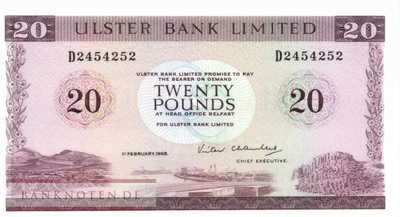 Northern Ireland - 20  Pounds (#328c-88_UNC)