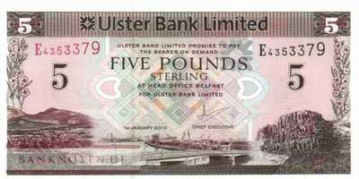 Northern Ireland - 5  Pounds (#340b_UNC)