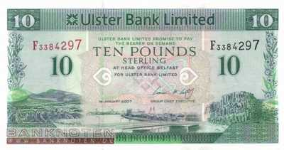 Northern Ireland - 10  Pounds (#341a_UNC)