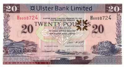 Northern Ireland - 20  Pounds (#342b_UNC)