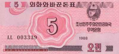 Korea North - 5  Chon (#032_UNC)
