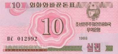Korea North - 10  Chon (#033_UNC)