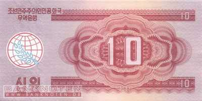 Korea North - 10 Won (#037_UNC)