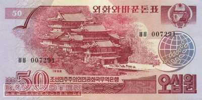 Korea North - 50 Won (#038_UNC)