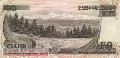 Korea North - 50  Won (#042a_UNC)