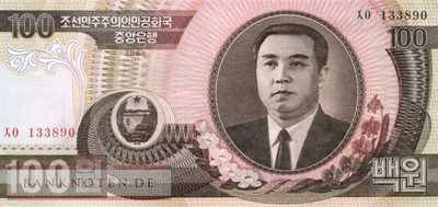 Korea North - 100  Won (#043-2_UNC)
