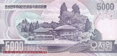 Korea North - 5.000  Won (#046a_UNC)