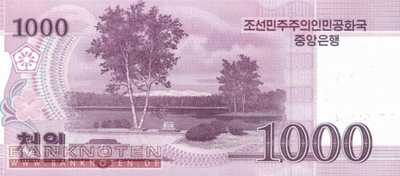 Korea North - 1.000  Won - SPECIMEN (#064S_UNC)