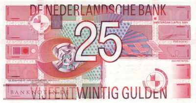 Netherlands - 25  Gulden (#100_UNC)
