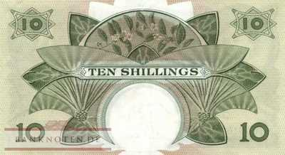 East Africa - 10  Shillings (#042a_XF)