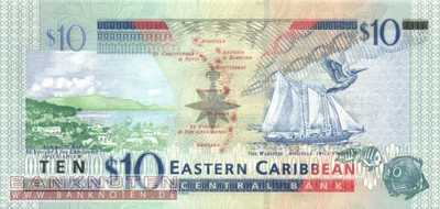 St. Kitts - 10 Dollars (#043k_UNC)