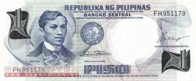 Philippines - 1  Piso (#142a_UNC)